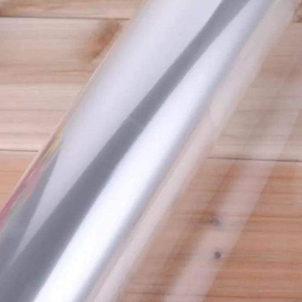 Pellicola Trasparente Rotolo Panelk Cellophane Volume cellophane fioraio 1ps 80cmx100m,Transparent Rotolo di Pellicola plastica
