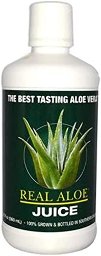Real Aloe, Juice Aloe Vera Organic, 32 Ounce