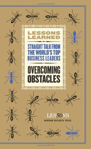 Overcoming Obstacles (Lessons Learned) ()