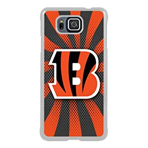 Beautiful And Unique Designed Case For Samsung Galaxy Alpha With Cincinnati Bengals 06 white Phone Case