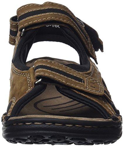 Sandali Trekking Uomo Estivi da Sandali Cuoio Sandals Uomo da di da Uomo da Sandali Zerimar moka Hiking Man da Moka Uomo Sandali Xq0wadAx