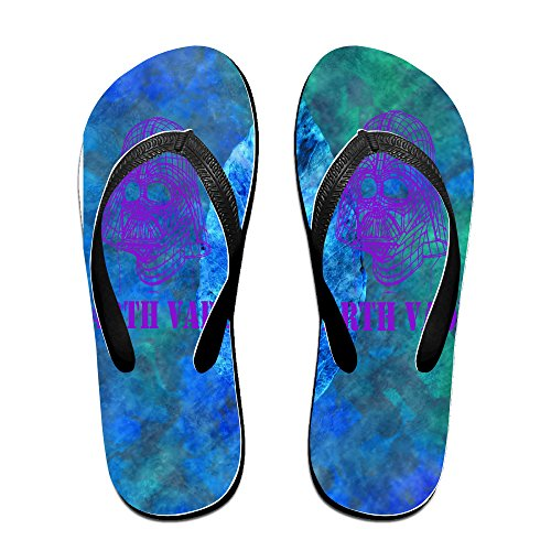 Shehe Dark Warrior Unisex Leisure Beach Flip-flops Slippers Size S (Ugg Flip Flop Slippers)