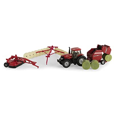 Case IH 1:64 Haying Set: Toys & Games