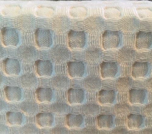 Hotel Balfour Premium Quality Fabric Shower Curtain White Waffle Weave
