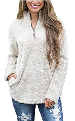 1/4 Zip Fleece Top - 5