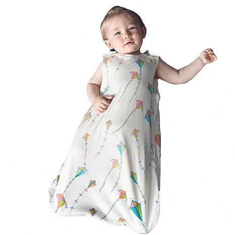 Saco de dormir para bebé, 100% algodón orgánico, para todo el año,