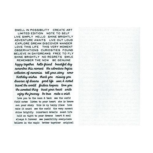 Advantus TH93695 Idea-Ology Remnant Rub-Ons Tiny Text ()