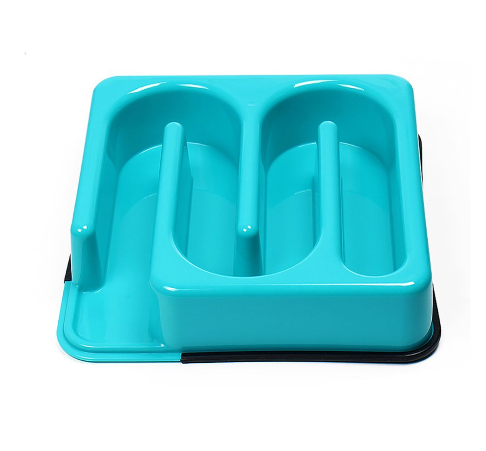 843c3a8f6fdc Interactive Diet Pet Bowl Water Food Cat Bowl,Dog Food Slow Dog ...