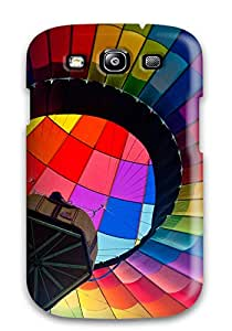 Best Special Skin Case Cover For Galaxy S3, Popular Colorful Hot Air Blloon Phone Case 6518382K96928606