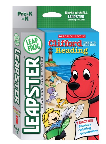 LeapFrog  Leapster Learning Game: Scholastic Clifford