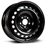 rims for 08 pontiac g5 - Aftermarket Steel Rim 16X7, 5X110, 65.1, +39, black finish (MULTI APPLICATION FITMENT) X46510