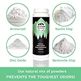Natural Shoe and Foot Odor Eliminator and