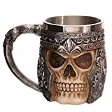 DIY Skull Head Mug Creative Thermos Stainless Steel Drinkware Coffee Mugs Beer Drink Tea Cup Bottle