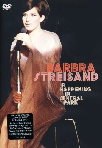 barbra streisand central park dvd - 1