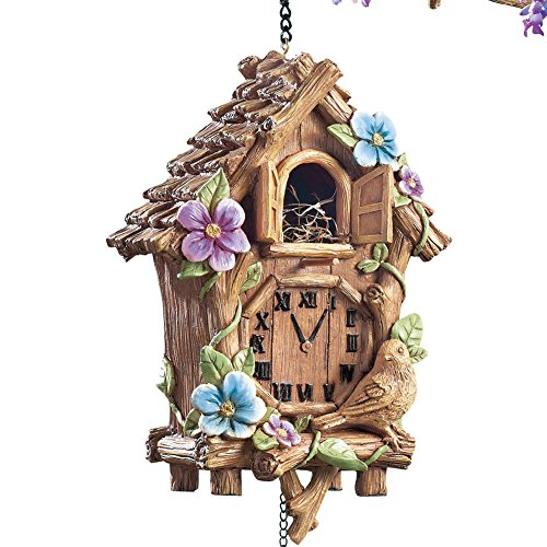 Cuckoo Clock Bird House Brown
