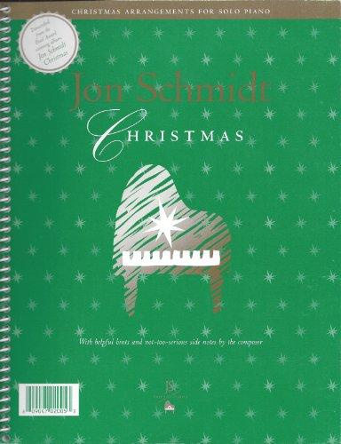 Jon Schmidt Christmas Music Book (Christmas Book Jon Schmidt Piano)
