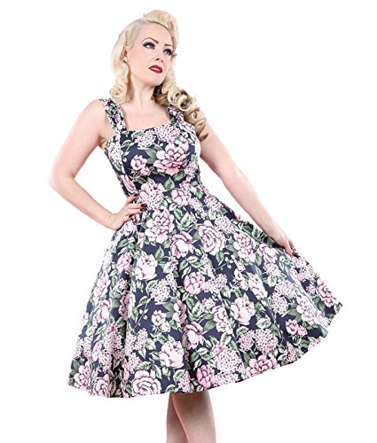 Tiger Milly - Robe Femme H&R London Floral Style Années 50