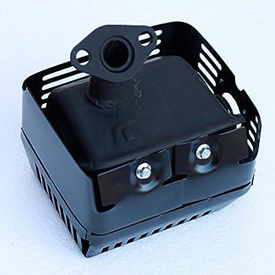 Oxoxo NEUF de silencieux d'échappement Assemblage avec filtre à air Cleaner pour Honda GX160Essence GX2006,5HP moteurs/moteurs/Moteur Générateur Pompe à eau