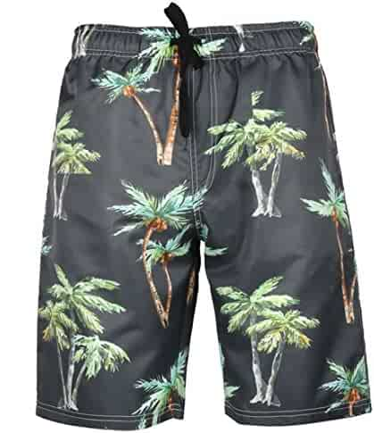 Eolgo Mens Swim Trunks Casual Sports Surfing Swimming Beachwear Lightweight Underwear with Drawstring