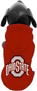 product image for NCAA Ohio State Buckeyes Polar Fleece Hooded Dog Jacket