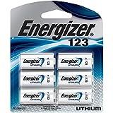 Energizer 123 Lithium Photo Batteries, 6-Pack