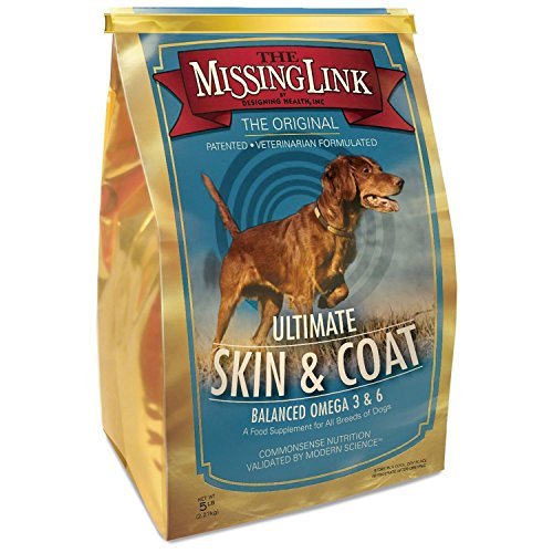 The Missing Link – Original All Natural Superfood Dog Supplement- Balanced Omega 3 & 6 to support Healthy Skin & Coat