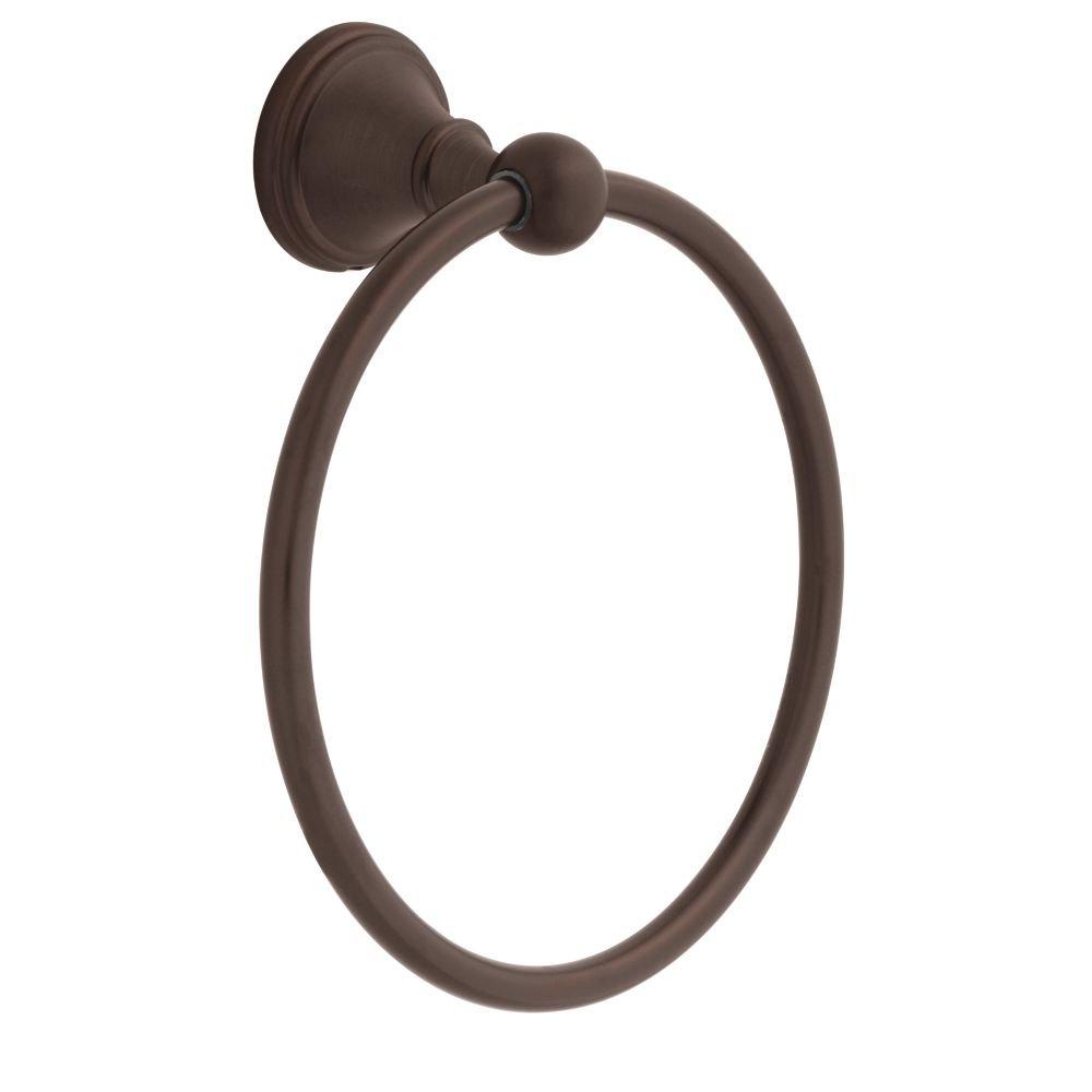 DELTA 138034 Crestfield, Bath Hardware Accessory, Towel Ring, Venetian Bronze