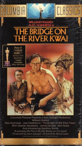 The Bridge on the River Kwai (1957 Film Starring William Holden, Alec Guinness) [VHS] (Alec Guinness Bridge On The River Kwai)