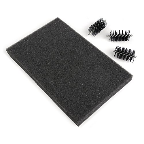 Sizzix 660514 Accessory Replacement brush Heads & Foam Pad ()