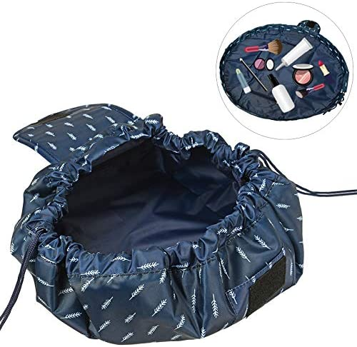ShopSquare64 Outdoor Reise Tragbare Faule Kosmetik Aufbewahrungstasche Make-Up Tasche Kordelzug Organizer Handtasche