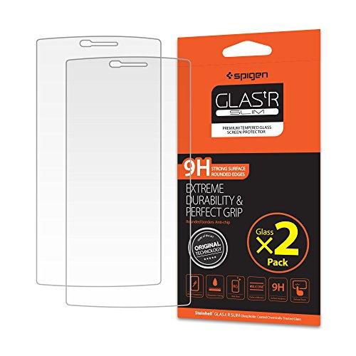 Spigen LG G4 Screen Protector Tempered Glass 2 Pack for LG G4