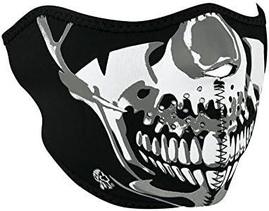 Skull Neoprene Sport Biker Ski Snow Motorcycle Harley Half Face Mask Cover