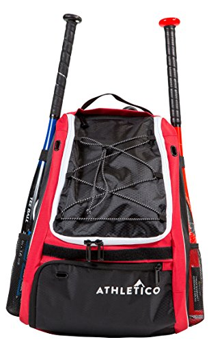 Athletico Baseball Bat Bag Compartment