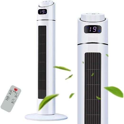 XPfj Pantalla LCD Ventiladores De Torre con Control Remoto Programable 90/110cm De Altura Poco Ruido Función Oscilación Temporizador 1-12h (Size : 110cm): Amazon.es: Hogar