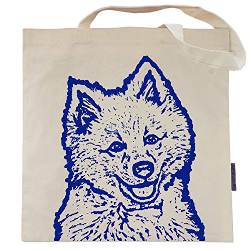 Chaps the American Eskimo Tote Bag by Pet Studio Art