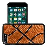 Luxlady Premium Apple iPhone 7 Plus Aluminum Backplate Bumper Snap Case IMAGE ID 1978536 Basketball pattern