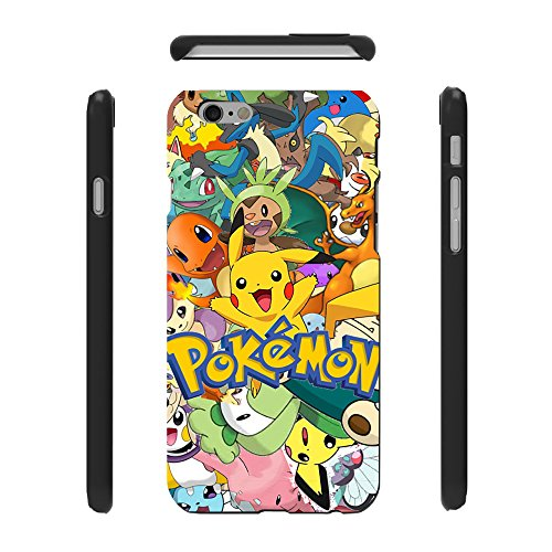 Yisw IPhone 6 Case,iPhone 6s Case,Pokemon Pikachu Crave Grip Guard Protection Series Case For Apple IPhone 6 6s 4.7 Inch Screen - Dior Seattle