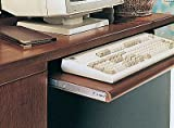 KV Keyboard Slide Variable Height 20'' 75lb Load Rating Anochrome