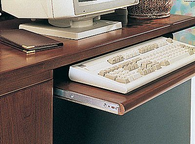 - Knape & Vogt KV Keyboard Slide Variable Height 18