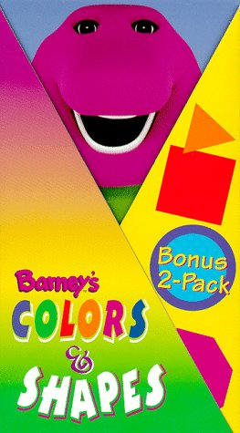 Barney's Colors & Shapes -