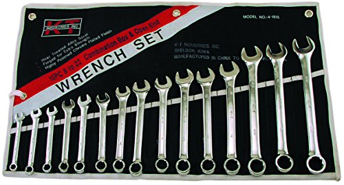 15 Piece Metric Service Wrench - 9