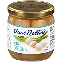 Aunt Nellie's Holland Style Onions 14 Ounce Jar Pack of 3