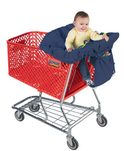 Jolly Jumper Sani-shopper Shopping Cart CoverSafety Belt- Fits Most Resturant High Chairs- Red / Jolly Jumper Sani-shopper Shopping Cart CoverSafety Belt- Fits Most Resturant High Chairs- Red