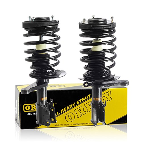 Chrysler Lhs Coil Spring - OREDY 2PCS Front Complete Struts Assembly Shock Coil Spring Assembly Kit 171937 171938 Compatible with Chrysler LHS/New Yorker 1994 1995 1996/Chrysler Intrepid/Dodge Intrepid 1993 1994 1995 1996 1997