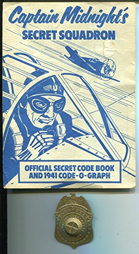 Captain Midnight Secret Squadron Membership Badge 1976-reproduction-manual-FN ()