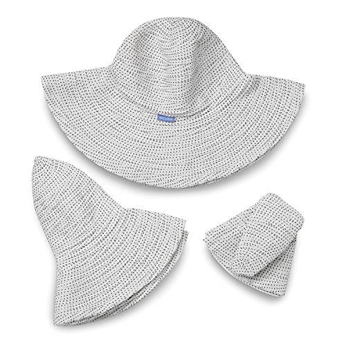 wallaroo Women s Scrunchie Sun Hat - Lightweight and Packable - Import It  All 1494252265ad