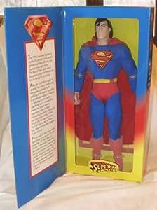 """Man of Steel SUPERMAN 12"""" Action Figure (1996 Kenner) K-Mart Exclusive"""