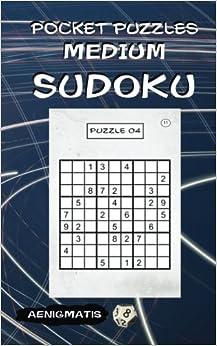 Pocket Puzzles - Medium Sudoku (large print)