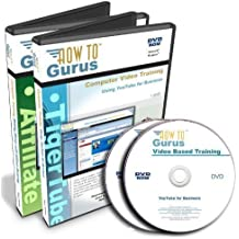 YouTube for Business Tutorial Training plus Affiliate Marketing Training on 2 DVDs