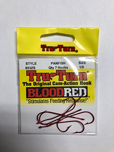 - Tru Turn Aberdeen Hook Red Size 2 10ct